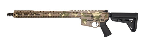 "Black Rain AR-15 Billett Special 5.56/223 16"" Barrel XL Handguard Tan Camo Finish 30rd Mag"