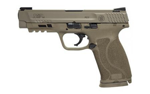 "Smith & Wesson M&P 45 ACP, 4.6"", Flat Dark Earth, Truglo Night Sights, 10rd"