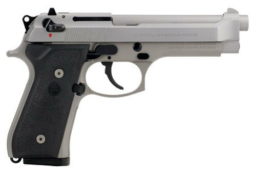 "Beretta 92FS, 9mm, 4.9"" Barrel, INOX, CA Compliant, 10rd"