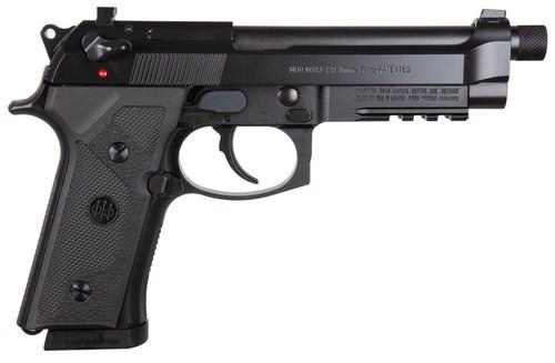 "*D*Beretta M9A3, 9mm, Type G, Italy, 5.2"" Threaded Barrel, 10rd, Black"