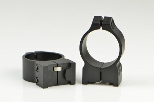 Warne Ruger 30mm Ruger M77, PA, Med Matte Rings, Fits M77 & Hawkeye Grooved Receiver