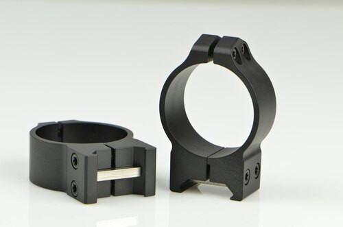 Warne 34mm, PA, Medium Matte Rings, Steel, Fixed for Maxima/Weaver Style or Picatinny Bases