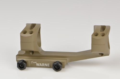 Warne Gen 2, Extended Skeletonized 30mm MSR Mount, Dark Earth, Fixed MSR for Picatinny Rail/Flat Top MSR