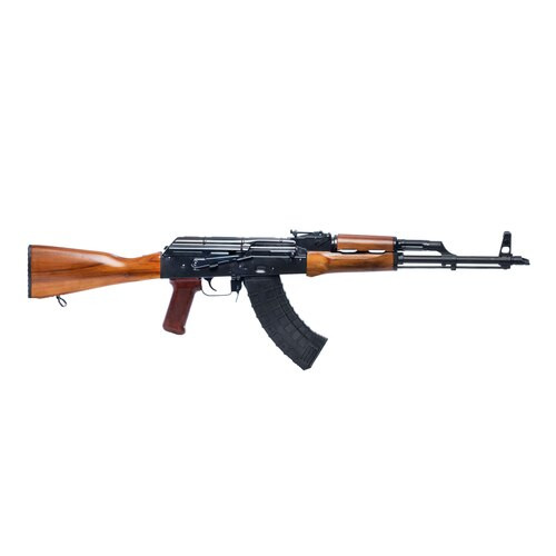 "Riley Defense RAK47 AK, 7.62X39, 16"" Barrel, Black, Teak Wood Stock, Adjustable Sights, 30Rd, 1 Magazine"