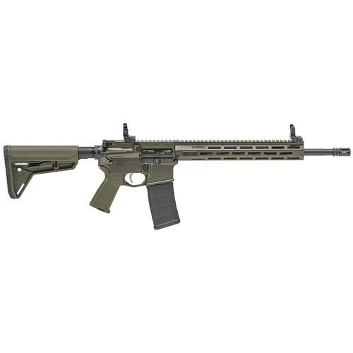 "Springfield Saint AR-15 223/556 16"" Barrel, OD Green Finish, M-Lok Handguard, 30Rd PMAG, Flip Up Sights, 30rd Mag"