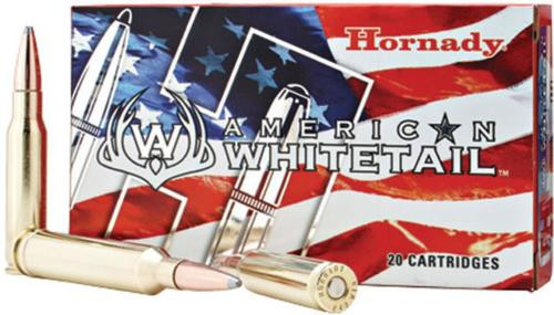 Hornady American Whitetail, .308 Win, Soft Point, 165gr, 20rd Box