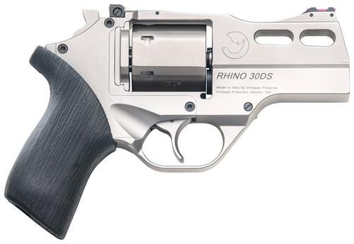 "Chiappa Firearms Rhino 30DS, .357 Mag, 3"" Barrel, 6rd, Nickel"