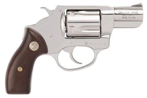 "Charter Arms Undercover, .38 Special, 2"" Barrel, 5rd, Polished Stainless"