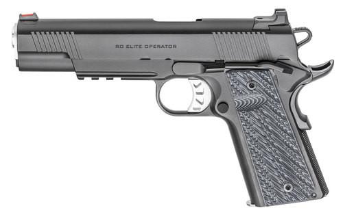 "Springfield Range Officer Elite Operator 1911, 10mm, 5"", 8rd, Black Steel"