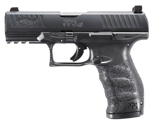 "Walther PPQ M2, 45 ACP, 4.25"" Barrel, 15rd, Night Sights"