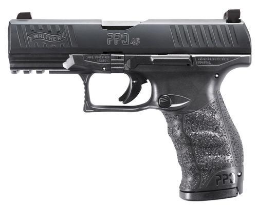 "Walther PPQ M2, 45 ACP, 4.25"" Barrel, 12rd, Night Sights"