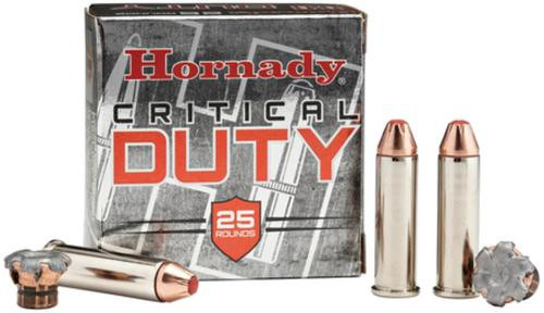 Hornady Critical Duty, .357 Mag, 135 Gr, Hollow Point Polymer Tip, 25rd/Box