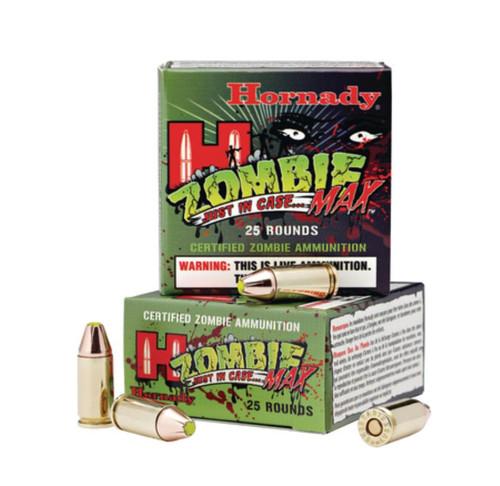 Hornady Zombie Max 9mm 115gr, 25rd/Box