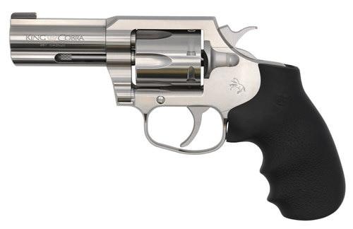 "Colt King Cobra 357 Mag/38 Special, 3"" Barrel, Stainless Steel, 6rd"