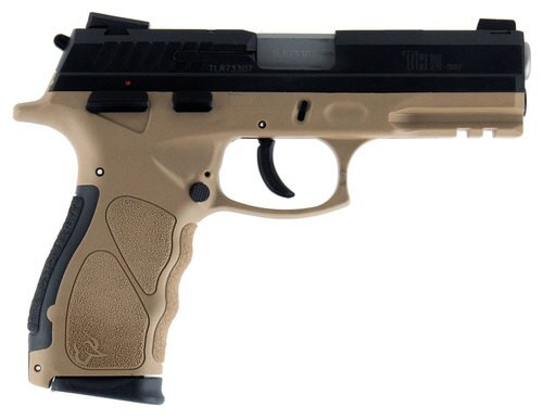 "Taurus TH9, 9mm, 4.25"" Barrel, 17rd, Novak Sights, Flat Dark Earth Frame, Black Slide"