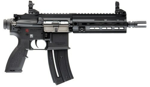 """HK 416 Pistol, .22 LR, 8.5"""" Barrel, 20rd, Matte Black"""