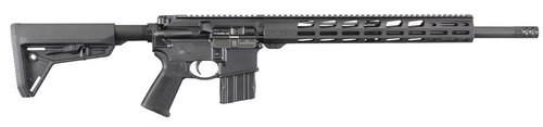 """Ruger AR-556, .450 Bushmaster, 18.63"""" Barrel, 5rd, Black"""