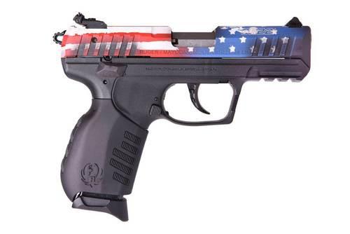 """Ruger SR22 American Flag Special Edition 22LR 3.5"""" Barrel 10rd Mag"""