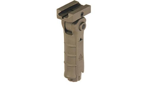 Leapers, Inc. - UTG Foregrip, 5-Position, Foldable, Flat Dark Earth