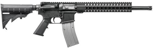 "CMMG MK4 HT, .22 LR, 16"" Barrel, 25rd, 6-Position Stock, Black"