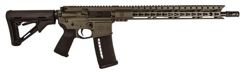 "Diamondback DB15 Elite, .223/5.56, 16"" Barrel, 30rd, Magpul CTR Stock, Burnt Bronze"