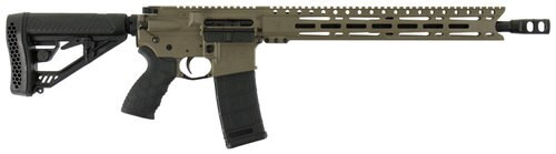 "Diamondback DB15 Elite, .223/5.56, 16"" Barrel, 30rd, Adaptive Tactical EX Performance Stock, Flat Dark Earth"