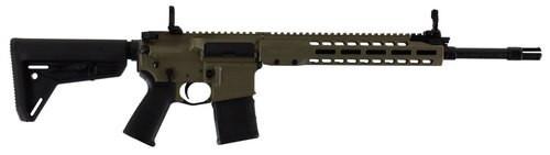 """Barrett, REC7 Gas Piston, 223 Rem/5.56mm, 16"""" Carbine Barrel, Flat Dark Earth Cerakote Finish, Magpul MOE Stock, 30Rd, M-Lok Handguard"""
