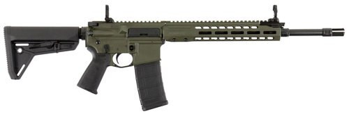 "Barrett REC7 Carbine, .223/5.56, 16"" Barrel, 30rd, Magpul MOE Stock, OD Green"