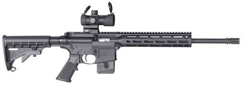 "Smith & Wesson M&P15-22 Sport OR AR-15 22 LR 16.5"" Barrel, Optic, 6-Position Stock 10rd Mag"