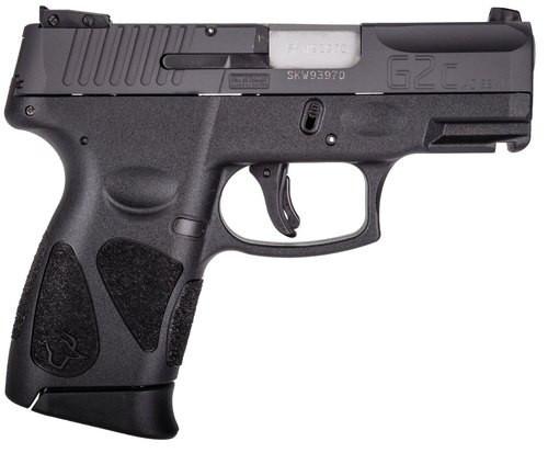 "Taurus G2C, Compact, 40S&W, 3.2"" Barrel, Polymer Frame, Black, 10Rd, 2 Magazines"