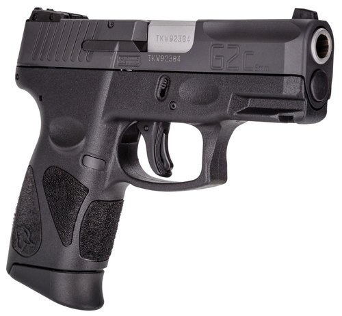 "Taurus G2c, 9mm, 3.25"" Barrel, 10 rd, Black"