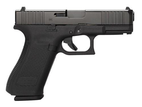 """Glock G45, 9mm, 4.02"""" Barrel, 10rd, Black Frame, Black nDLC Slide"""