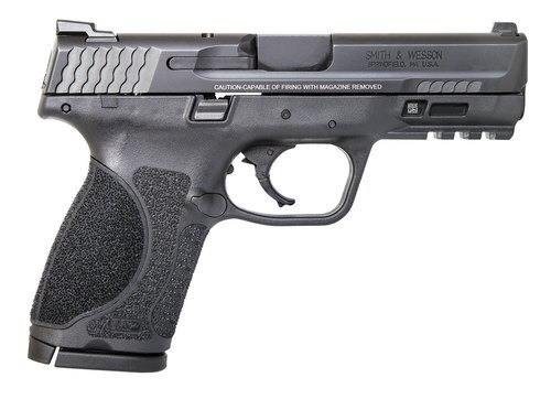 """Smith & Wesson M&P M2.0 Compact MA Compliant, 9mm, 4"""", 10rd, Black"""