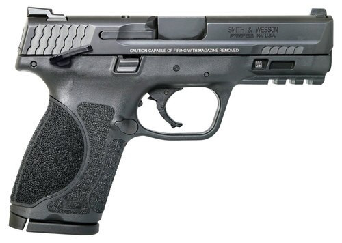 "Smith & Wesson M&P M2.0 Compact, 9mm, 4"" Barrel, 10rd, Black"