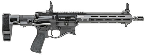 "Springfield Saint Edge Pistol AR, 5.56 NATO, 10.3"" Stainless Steel Barrel, Aluminum Receiver, Black, M-LOK Handguard, With Stabilizing Brace, 10rd Pmag"