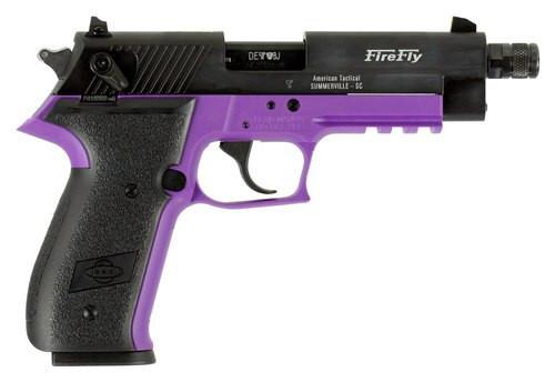 "GSG Firefly, .22 LR, 4.9"" Barrel, 10rd, Purple Frame"