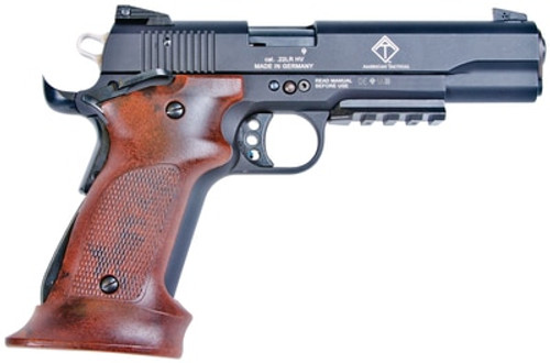 "GSG M1911 HGA .22LR 5"" Barrel, WDGP 10RD INCLUDES TARGET GRIP SET"