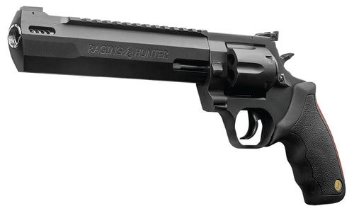 "Taurus Raging Hunter Pack, .44 Mag 8.375"" Barrel, 6rd, Matte Black, Rubber Grips, Deluxe Case"