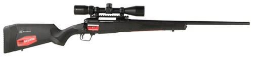 """Savage 110 Apex Hunter XP, .260 Rem, 24"""", 4rd, 3-9x40mm Vortex Crossfire II Scope, Black"""