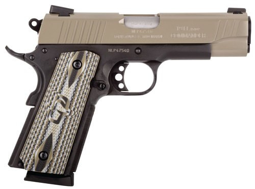 "Taurus 1911 Commander 45 ACP, 4.2"" Barrel, Novak Sights, Black Frame, Sand Slide, 8rd"