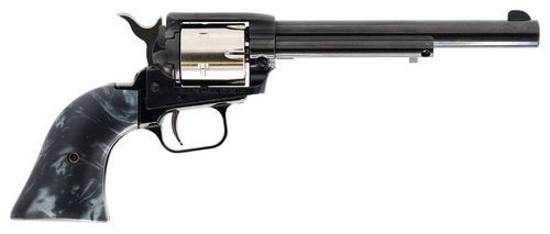 "Heritage Rough Rider Small Bore, .22 LR, 6.5"" Barrel, 6rd, Black Pearl Grips"