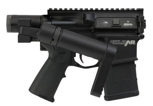 """FoldAR DoubleFoldAR15, .300 Blackout, 9"""" Barrel, 30rd, Dead Foot Arms Pistol Brace, Black"""
