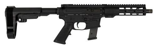 "Windham RP9 GMC Pistol, 9mm, 9"" Barrel, 17rd, SB Tactical Arm Brace, Black"