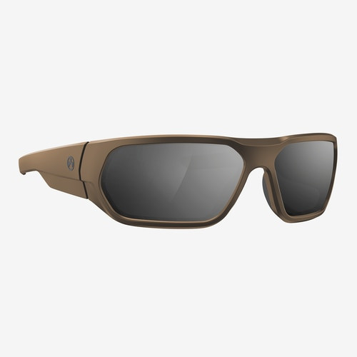 Magpul Radius Eyewear, Polarized - Flat Dark Earth / Gray, Silver Mirror