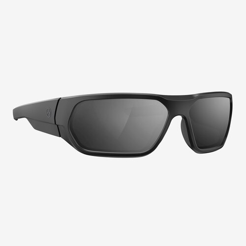 Magpul Radius Eyewear, Polarized - Black / Gray, Silver Mirror