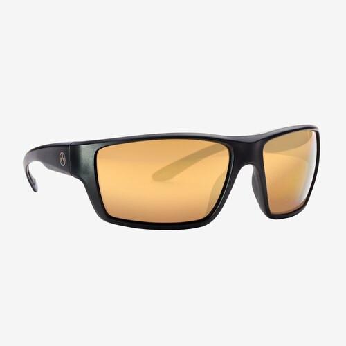 Magpul Terrain Eyewear, Polarized - Black / Bronze, Gold Mirror