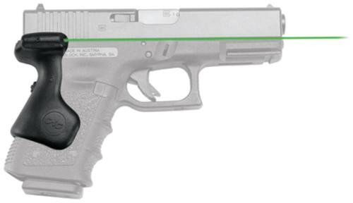 Crimson Trace Lasergrips Green Glock, Gen3 19/23/25/32/38, Gen4 19/23/32, Gen5 19