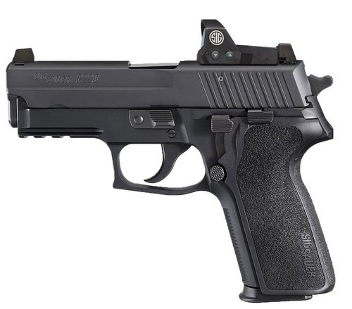 "Sig P229 RX MA Compliant, 9mm, 3.9"" Barrel, 10rd, Night Sights, Black"
