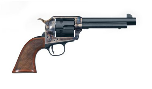 "Uberti Short Stroke SASS Pro .45 Colt, 4.75"" Barrel, 6rd, Blued, Case Hardened"