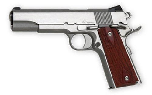 """Dan Wesson RZ-10, 10mm, 5"""" Barrel, 9rd, Cocobolo Grips, Stainless Steel"""